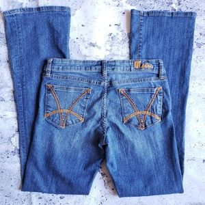 Kut from the Kloth Womens Felicia Baby Bootcut